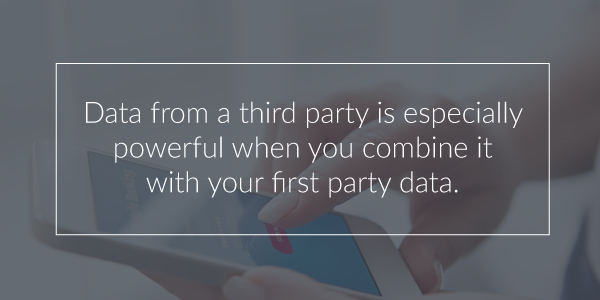Combine Third Party Data
